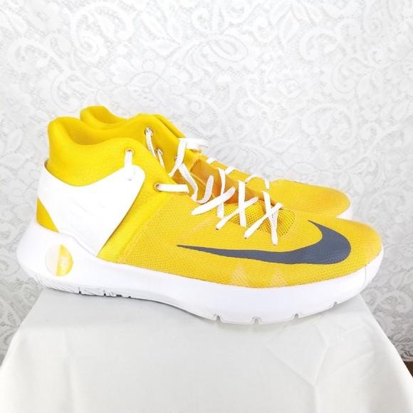 best loved 2be10 8f1d4 Nike KD Trey 5 IV Shoes Men s SZ 16 Yellow White. M 5bfe5019fe5151efc9c26c8e